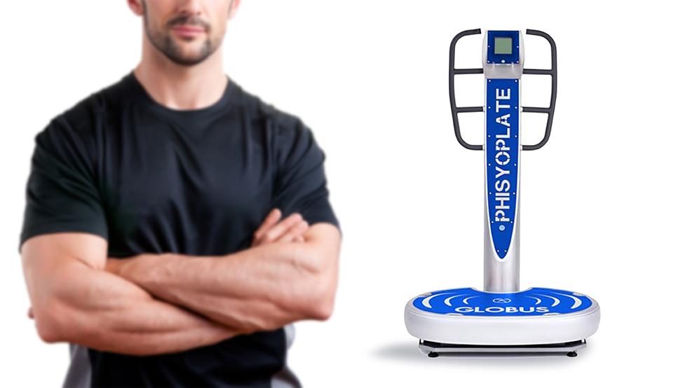 Personal Trainer con Pedana Vibrante Physioplate Globus Coporation