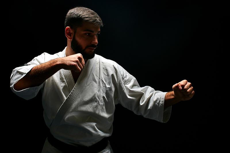 Uomo Karate