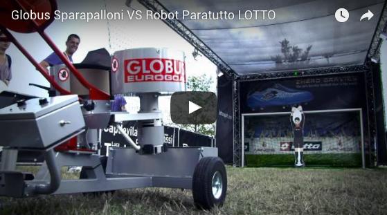 Globus Sparapalloni VS Robot Paratutto